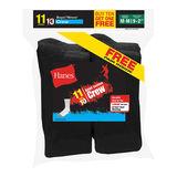 Hanes EZ-Sort Boys Crew Socks 11-Pack 421/11