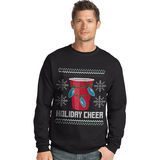 Hanes Men's Ugly Christmas Sweatshirt O5A11