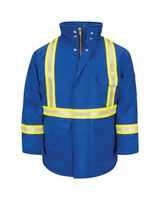 Bulwark Deluxe Parka With Reflective Trim - EXCEL FR ComforTouch JLPC