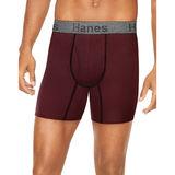 Hanes Men's Comfort Flex Fit® Ultra Soft Cotton Stretch Boxer Briefs 3-Pack CFFBC3