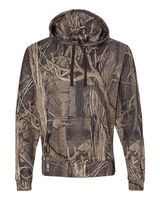 J. America Tailgate Polyester Hooded Pullover Sweatshirt 8615