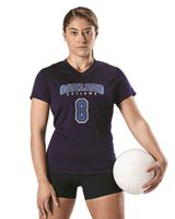 Alleson Athletic Women's Short Sleeve Volleyball Jersey A00231