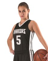 Alleson Athletic Women's Single Ply Basketball Jersey A00133