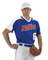 Alleson Athletic Youth V-Neck Baseball Jersey A00010