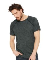 Next Level Mock Twist Raglan Short Sleeve Crew 2050