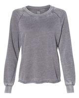 Alternative Women's Lazy Day Burnout French Terry Crewneck Sweatshirt 8626
