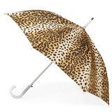 Totes Leopard Stick Umbrella