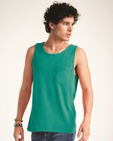Comfort Colors Garment Dyed Tank with a Pocket 9330