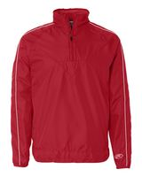 Rawlings Quarter-Zip Micro Poly Pullover 9708