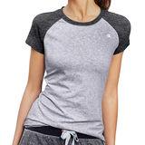 Champion Womens Power Cotton Raglan Tee Shirt W0740