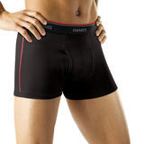 Hanes Mens Sport Cool DRI Short Leg Boxer Briefs with Comfort Flex 2XL 4-Pk MCBAS4