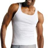 Hanes Mens White A-Shirt 3-Pk 372