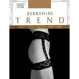 Berkshire 4909Q Queen Sheer Garter Belt Stocking Lace Top