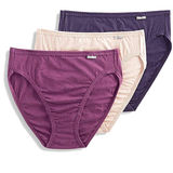 Jockey Women's Underwear Plus Size Elance French Cut Panty - 3 Pack 1485