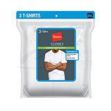 Hanes Classics Mens Traditional Fit ComfortSoft TAGLESS Crewneck Undershirt 2X-4X 3-Pk 7870W3B