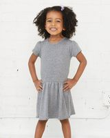 Rabbit Skins Toddler Baby Rib Dress 5323