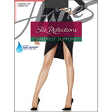 Hanes Silk Reflections Sheerest Support Control Top Sheer Toe Pantyhose 0B750