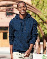 J. America Cosmic Fleece Hooded Pullover Sweatshirt 8613