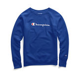 Champion Women Plus Powerblend Fleece Crew Graphic-2C Champion Script QW914G Y07466