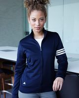 Adidas Women's 3-Stripes French Terry Full-Zip Jacket A191