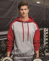Badger Sport Athletic Fleece Hooded Sweatshirt 1249
