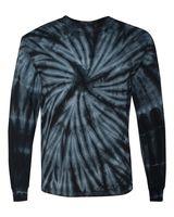 Dyenomite Cyclone Vat-Dyed Pinwheel Long Sleeve T-Shirt 240CY