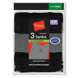 Hanes Boys Dyed Tanks 3-Pack B392P3