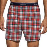 Hanes Mens ComfortBlend Woven Boxers with Comfort Flex Waistband 3-Pk MBBXD3