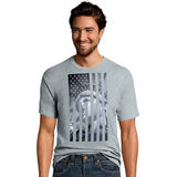 Hanes Men's Liberty Flag Graphic Tee GT49 Y06044