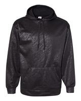 Badger Line Embossed Hooded Pullover Performance Fleece Sweatshirt 1431