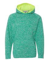 J. America Youth Cosmic Fleece Hooded Pullover Sweatshirt 8610