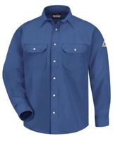 Bulwark Snap-Front Uniform Shirt - Nomex IIIA - 6 oz. - Long Sizes SNS6L