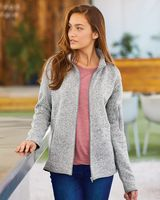 Burnside Women's Sweater Knit Jacket 5901