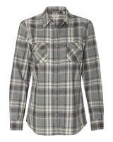 Weatherproof Vintage Women's Burnout Flannel Shirt W178573