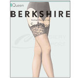Berkshire Very Sheer Lace Top Stocking Lycra Leg 1361