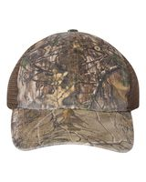 Richardson Camo Washed Trucker Cap 111p