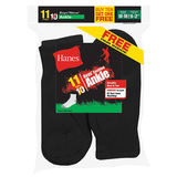 Hanes EZ-Sort Boys Ankle Socks 11-Pack 422/11