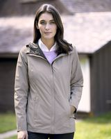 Weatherproof 32 Degrees Women's Melange Rain Jacket 17604W