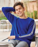 J. America Rival Fleece Crewneck Sweatshirt 8641