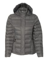Weatherproof 32 Degrees Women's Hooded Packable Down Jacket 17602W