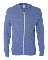 Alternative Eco-Jersey Hooded Full-Zip 1970e1