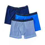 Jockey Men's Underwear Active Microfiber Boxer Brief - 3 Pack 9411 9121