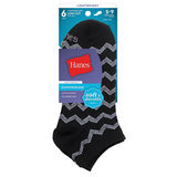 Hanes Comfort Blend Women's Low-Cut Socks 6-Pack 856/6