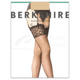 Berkshire 1361Q Queen Sheer Stocking Lace Top Lycra Leg Requires a garter belt