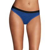 Maidenform Sport Heathered Micro Thong DMMSMT