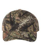 Outdoor Cap Garment-Washed Camo Cap CGW115