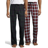 Hanes Men's Flannel Pant 2-Pack 02006/2