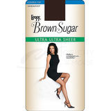 Leggs Brown Sugar Ultra Sheer Control Top Pantyhose 74402