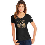 Hanes Explore National Park Women's Graphic Tee G9337P Y07763
