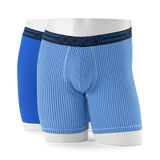 Jockey Big Man Active Micro Strech Athlethic Midway Brief - 2 Pack 9415